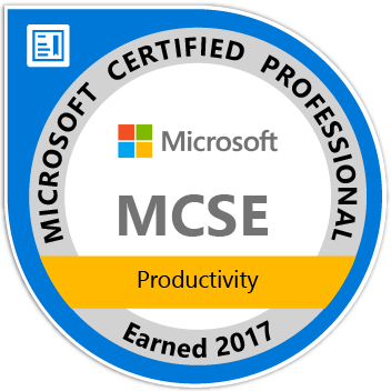 MCSE: Productivity Certification